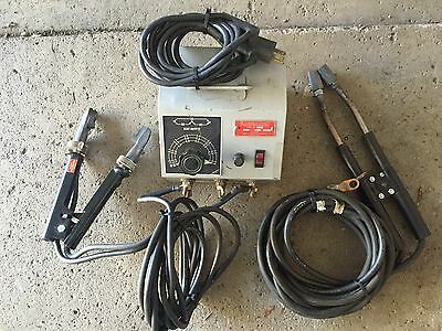 American Beauty 105c1 Resistance Soldering System 1000w  foot pedal  Attachments