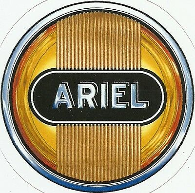 ARIEL MOTORCYCLE Sticker Decal