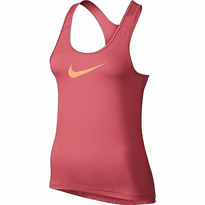 Womens Nike Pro Cool Tank Dri-FIT Vest Fitted Running Gym Top - Multiple colours
