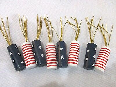 Patriotic 4th Of July Firecracker Bowl Filler Table Scatter Decorations (8)
