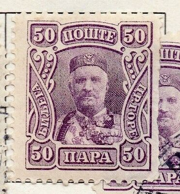 Montenegro 1905 Early Issue Fine Mint Hinged 50pa. 147320