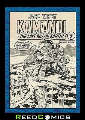 JACK KIRBY KAMANDI VOLUME 2 ARTIST EDITION HARDCOVER New Boxed Sealed Hardback