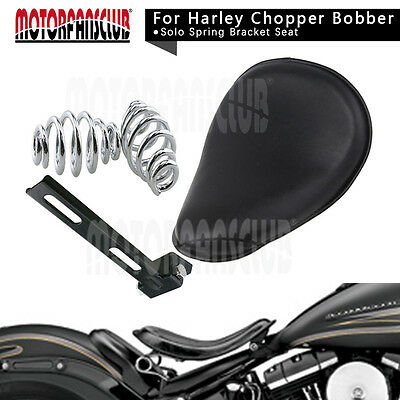 Motorcycle Leather Solo asiento&Spring Bracket Mount Fits Harley-Davidson XL 883