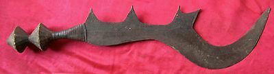 Antique 1800's African Ngala/Ngombe Executioner's Sword