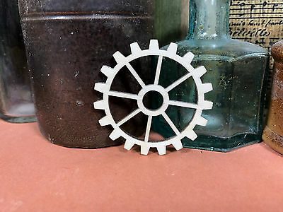 COG SHAPE 2 WOODEN GEARS Multiple Sizes Steampunk Wood Cogs Shapes 2.5cm to 25cm