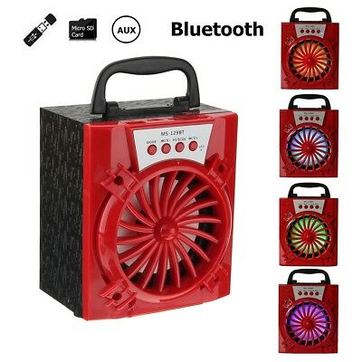 MS-129BT Bluetooth Wireless Portable Speaker Super Bass with USB TF AUX FM Radio