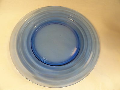 15 Cobalt Blue Moderntone Luncheon Plates AS IS 7 3/4 inches wide