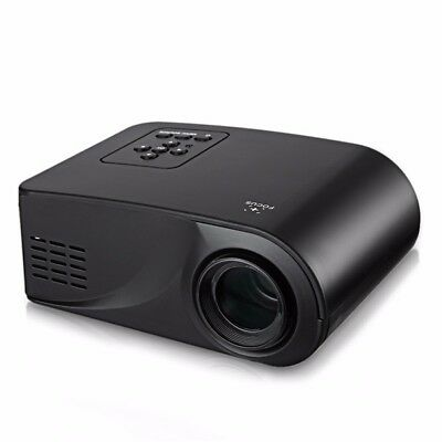 Portable 480 x 320 Pixels 80LMS LCD Projector Home Cinema with HDMI USB AV VGA S