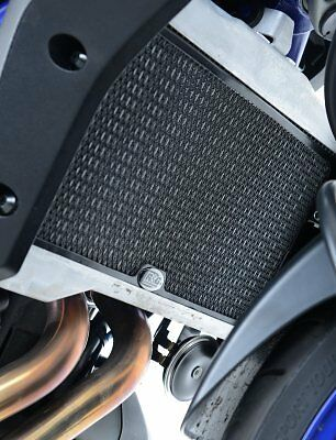 R&G RADIATOR GUARDS BLACK YAMAHA MT-07 XSR700 Tracer 700 PROTECTION #RAD0171BK