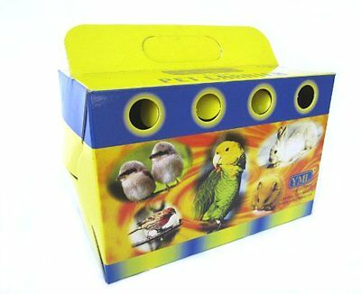 NEW YML Cardboard Carrier for Small Animals or Birds, Lot of 100