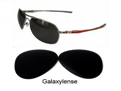 Galaxy Replacement Lenses For Oakley Plaintiff Sunglasses Black Polarized