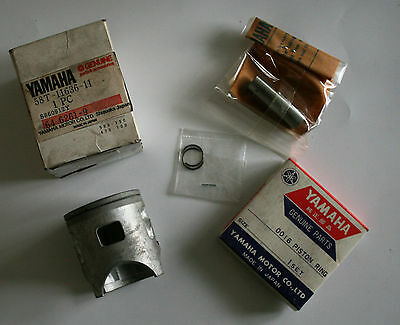 Kit piston d'origine neuf +0.50 YAMAHA YZ80 1986/87 58T-11630-21