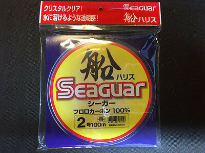 Seaguar Fluorocarbon Fishing Leader Line 100% Fluro Carbon Made In Japan 6LB