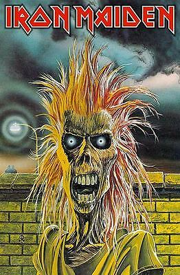 "Iron Maiden Flagge / Fahne ""same - First Lp Cover"" Poster Flag Posterflag"