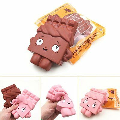 13cm Cute Chocolate Man Squishy Slow Rising Squeeze Fun Toy Relieve Stress Gift
