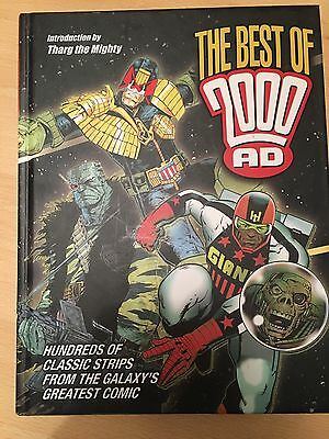 Best Of 2000AD Graphic Novel Book