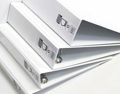 Cumberland Binder A4 3D 50mm Ecowise White Insert