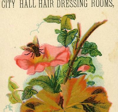 Collectibles Victorian Trade Cards Soapine Kendall Mft Providence Ri Red Gold Girl W Flowers Vict Card C 1880s