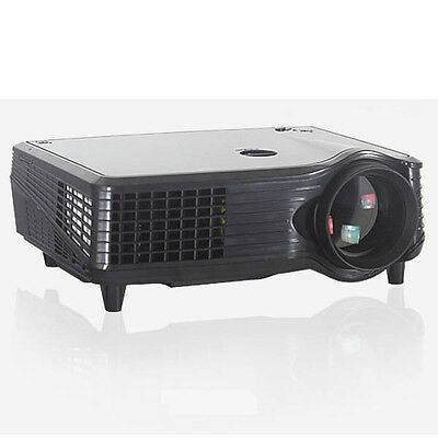 X203 2000 Lumens 800x480 3D HD Projector Home Cinema Black