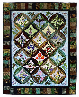 Wildfire Designs Alaska Northern Flora Applique Quilt Pattern