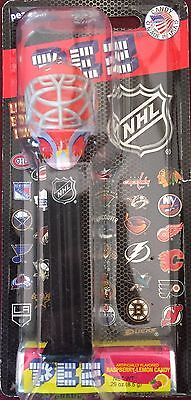 PEZ - NHL Hockey Mask - Fire - MOC - Mint On Card