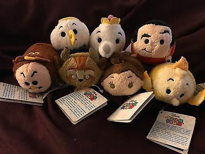 Disney Tsum Tsum Beauty And The Beast Set Of 7