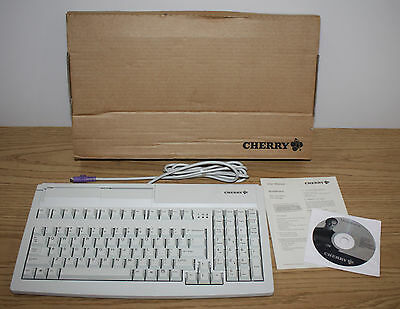 Cherry PS2 Wired Keyboard w/ Magnetic Card Reader MY7000, MultiBoard, POS
