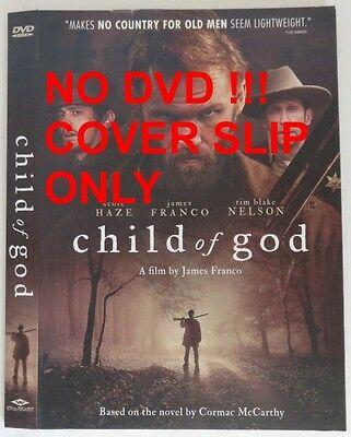 No Discs !! Child Of God Dvd Cover Slip Only - No Discs !!           (Inv13289)