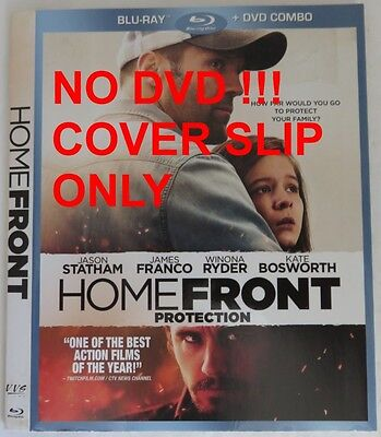 No Discs !! Homefront Blu-Ray Cover Slip Only - No Discs !!           (Inv13288)