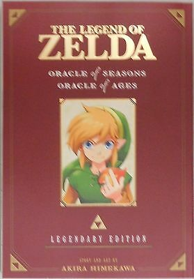 The Legend of Zelda vol 2 Oracle of Seasons Legendary Edition paperback manga