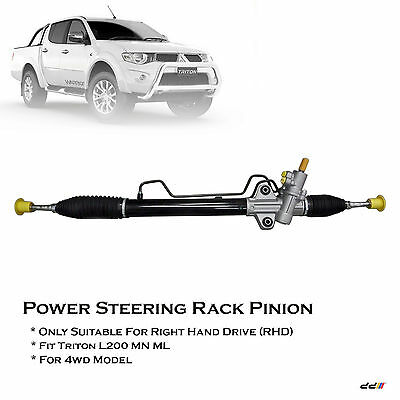Power Steering Rack fit for MITSUBISHI TRITON 4WD 4x4 ML MN 07/2006 ONWARDS