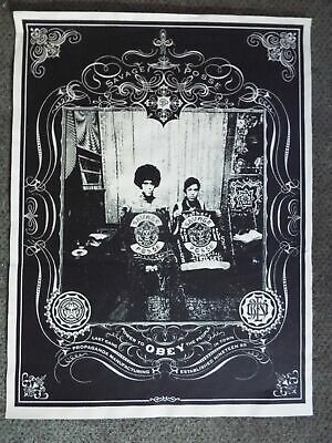 """2006 SHEPARD FAIREY Giant Savage"""" SCREEN PRINT OBEY STREET PASTER POSTER 18 x 24"""