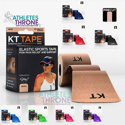 Genuine KT Tape Kinesiology Sports Therapy Gym Rehab Repair Muscle Pain Relief