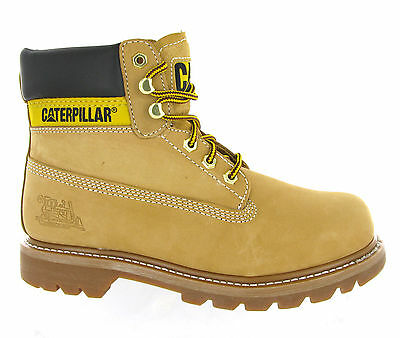Caterpillar Colorado Mens Leather Ankle Boots Shoes 6 Inch Cat Boot Work New