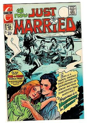 Just Married #96 1973- Charlton Romance-Luau island cover vg+