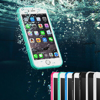 Waterproof TPU Soft Shockproof Phone Case Cover For iPhone XS MAX 8 7 6s 6 plus