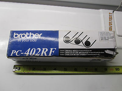 Brother PC-402RF 2 Refill Rolls For Use IN Ppf-560 580Mc