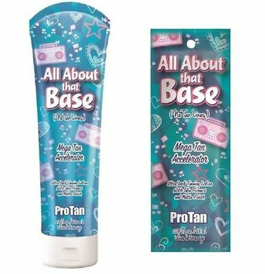 Pro Tan - All About That Base - Sunbed Tanning Lotion Cream - Sachet Or Bottle