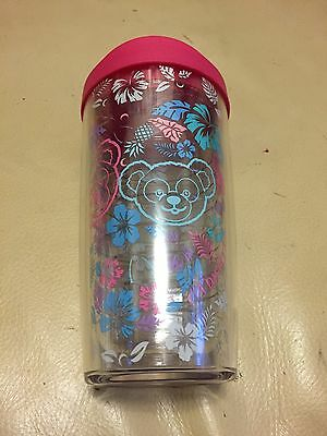 NEW DISNEY SHELLIE MAY DUFFY TERVIS Clear Cup AULANI Hawaii Exclusive