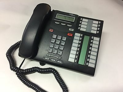 Business Phone Nortel Norstar T7316E Charcoal Display Speaker Telephone Nt8B27