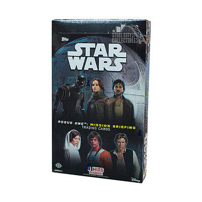2016 Topps Star Wars Rogue One: Mission Briefing Hobby Box