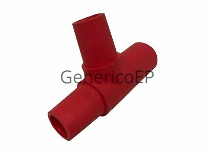 Marinco (CTT-E) CL/CLS/CLM Tapping T Adapter (M-F-F)  Red Tee Cam Lok