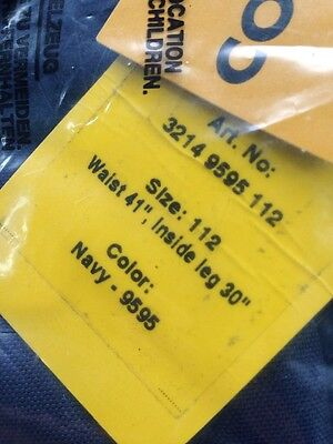 Snickers 32149595112 Navy Work Trousers Bnwt