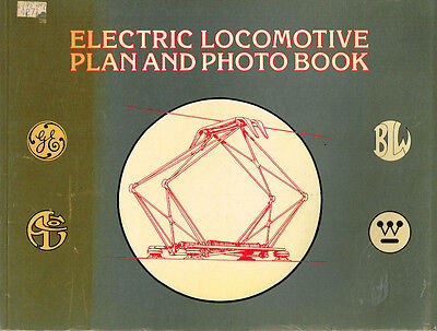 Electric Locomotive Plan And Photo Book - Used