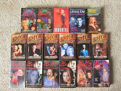 Lot of 17 BUFFY THE VAMPIRE SLAYER Television Tie-In Books, Paperbacks