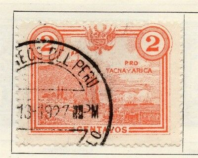 Peru 1927-28 Early Issue Fine Used 1c. 148256