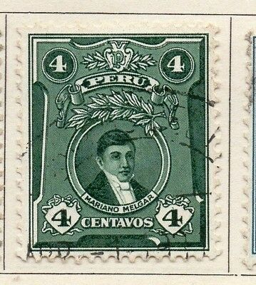 Peru 1930 Early Issue Fine Used 4c. 148260