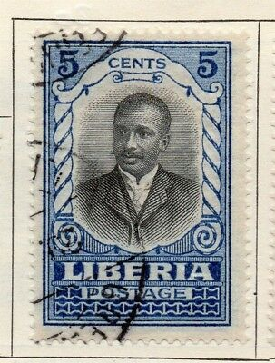 Liberia 1921 Early Issue Fine Used 5c. 148279