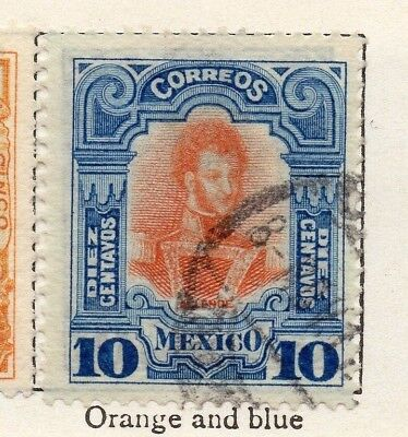 Mexico 1910 Early Issue Fine Used 10c. 148328