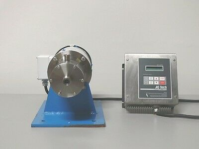 Silverson 150L Inline Lab Mixer, Variable Speed W/ Reliance 1 HP Motor